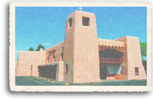 Cristo Rey Church is an excellent example of New Mexican mission architecture. As part of Santa Fe, New Mexico's Canyon Road neighborhood, the historic adobe church is a place of respite for many Santa Feans needing a break from the hustle and bustle of daily life.